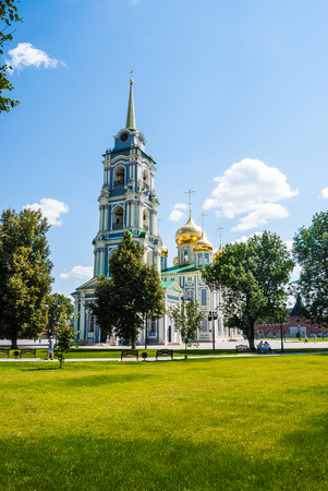 arrepentimiento: Kremlin in Tula - an ancient city near Moscow, Russia. Image of travel in Russia. Historical buildings, travel background from Russia. Foto de archivo