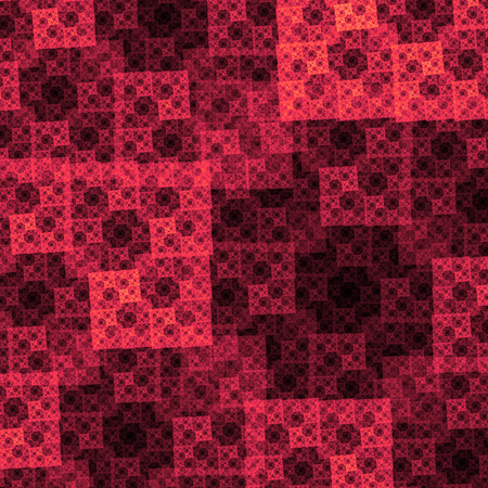 uses a computer: Beautiful abstract image. Computer generated pattern with curves and particles. Colorful vintage texture for variety of design uses.