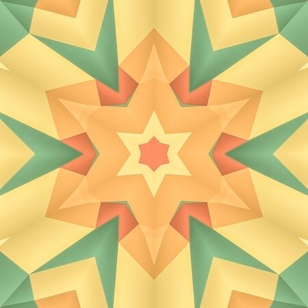 dens: illustration seamless pattern background with different geometrical shapes of multiple colors.