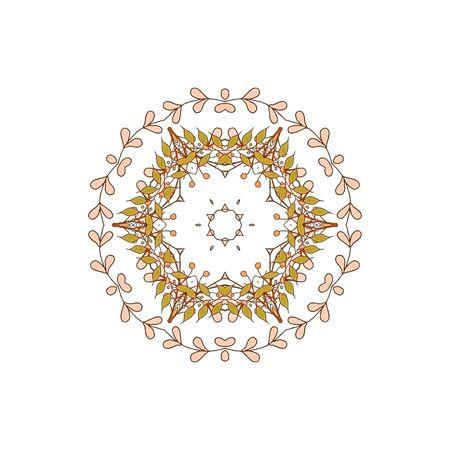 patchwork pattern: Gorgeous symmetrical patchwork pattern. Stock Photo