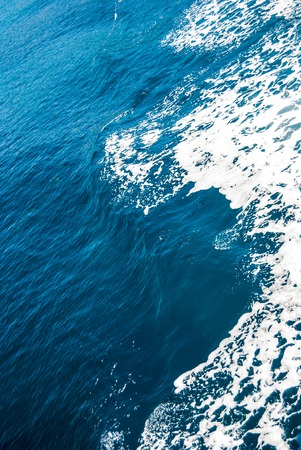 sea scape: boundless sea surface, only blue water