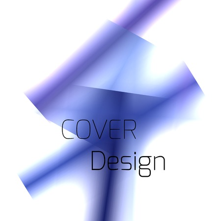 Abstract background for booklet with glowing colorful geometric shapes. Geometrical pattern for covers, banners, booklets and other design uses. For web or printed media.