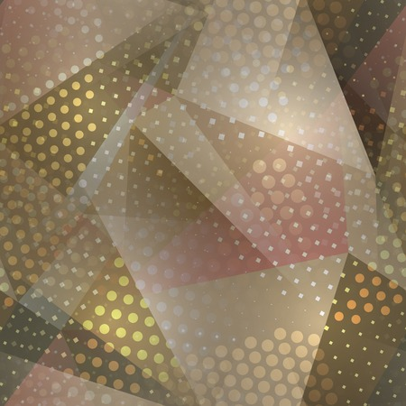 scuffed: Abstract seamless chaotic pattern with urban geometric elements, scuffed, drops, sprays, triangles. Texture pattern for covers, banners, booklets, etc. For web or printed media. Illustration