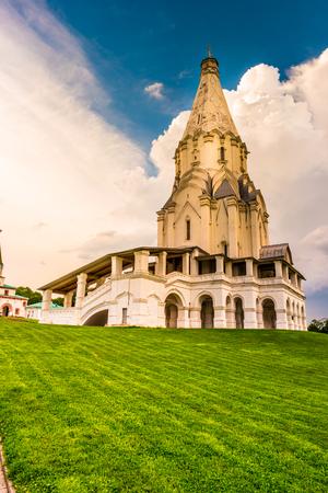 russian orthodox: Russian orthodox church in Kolomenskoye in Moscow, Russia