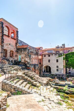catania: Ancient Roman theater in Catania
