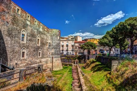 cornerstone: Panorama of the Castello Ursino