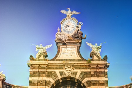 The arch Giuseppe Garibaldi, Catania, Sicily
