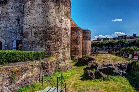 Panorama of the Castello Ursino