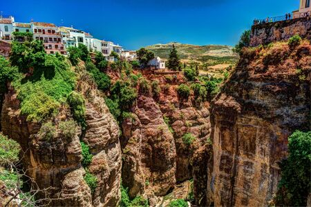 Ronda, Spain, a landscape with the Tajo Gorge