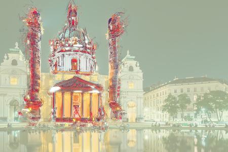 dom: Karlskirche or St. Charless Church
