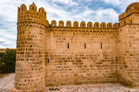 The fortress of Ribat of Sousse in Tunisia.