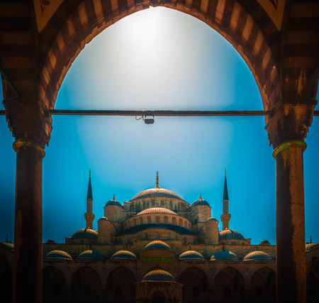The Blue Mosque Istanbul, Turkey. Sultanahmet Camii.