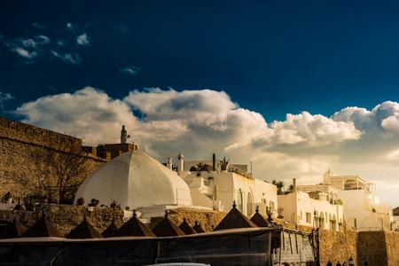 Hammamet, Tunisia. Image of architecture of old medina Reklamní fotografie