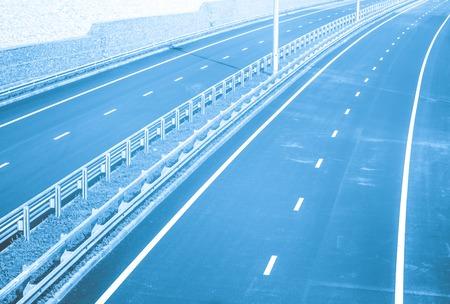 new road under bridge
