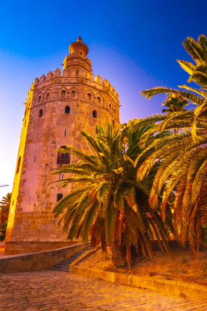 Torre del Oro, meaning Golden Tower, in Seville, Spain is an Albarrana Tower located on the left bank of the Guadalquivir River