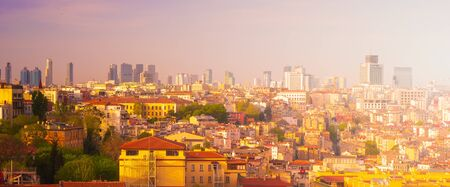 Istanbul at sunset, Turkey. Foto de archivo - 133745206