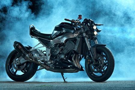 singular: sport motorcycle   studio photography of sport motorcycle