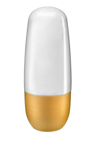 inverted: Inverted cosmetic bottle