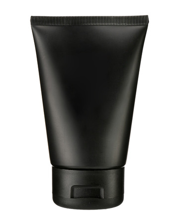 grooming product: Black cosmetic tube