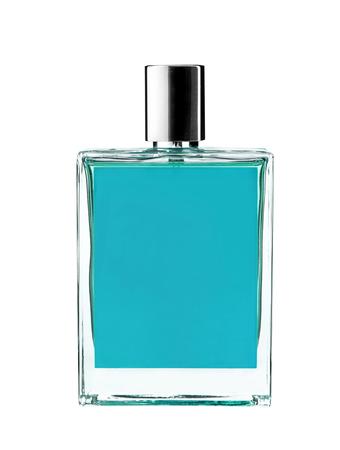 eau de perfume: Eau de cologne - studio photography of perfume bottle - isolated on white background