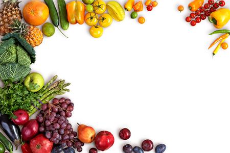 owocowy: Zdrowe odżywianie w tle