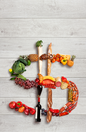 Healthy food for healthy business photo