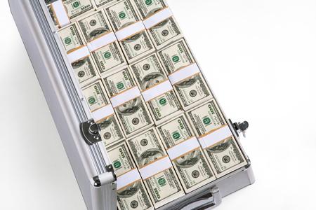 Case full of money photo