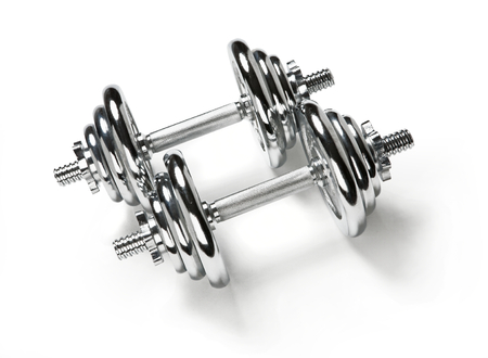 chromium plated: Adjustable dumbbells