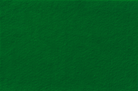 Dark Green Felt Background for design. View from above. Close up.