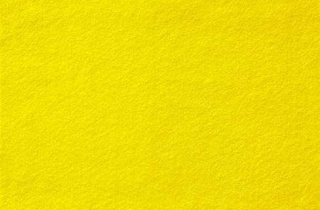 Feltro giallo Sfondo per il design. Vista dall'alto. Avvicinamento.