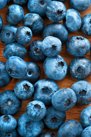 harvest background: Healthy blueberries background. Close up, top view, high resolution product. Harvest Concept
