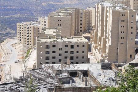 palestinian: Rawabi, Palestinian Authority - June 27, 2014. A new Palestinian city of Rawabi built in the Western bank (Samaria) not far from Ramallah. Editorial