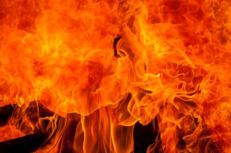 blazes: Blazes of fire, abstract arson concept stock image. Stock Photo
