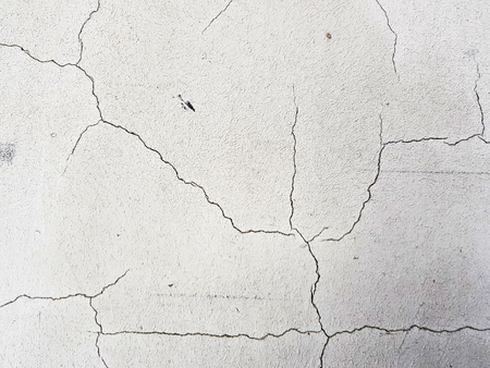 beautiful cracks in concrete or plaster in cracks