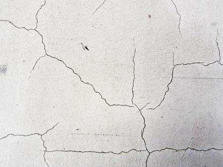 mooie scheuren in beton of gips in scheuren