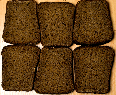 pumpernickel: Pumpernickel bread on the background
