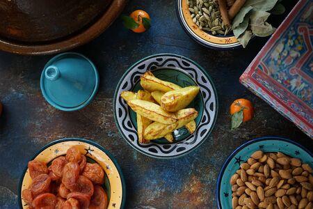 Baklava is a traditional Arabic dessert with walnuts and honey Reklamní fotografie