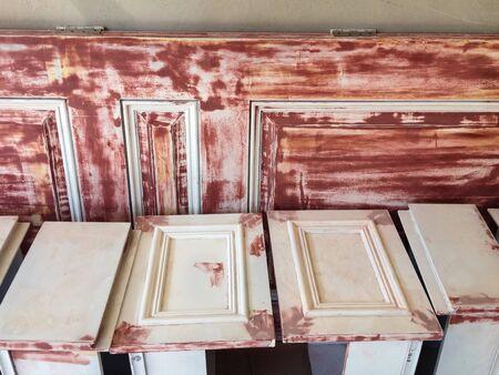 interior: Preparation interior paint Stock Photo