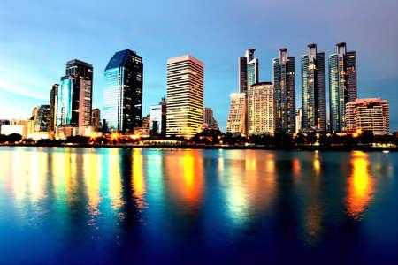 bangkok NIGHT: bangkok night cityscape