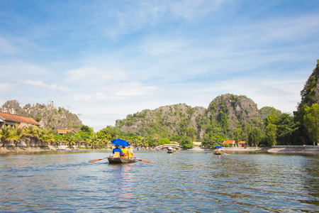 Cruise in nature  Ninh Bình Province Vietnam Stock Photo