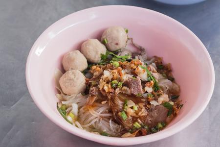 thai noodles street food