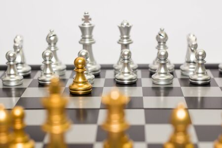 chess Business concept 写真素材