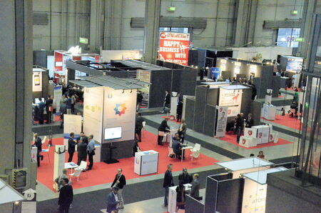 protagonists: Milan (Italy) - 27 october 2014: With the inaugural conference entitled EXPO 2015 and Italy innovation: companies at the center, the territories protagonists kicks off the 51st edition of Smau: the center of the debate appointment with Expo 2015, th Editorial