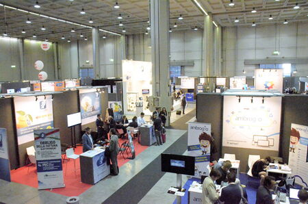 Milan (Italy) - 27 october 2014: With the inaugural conference entitled EXPO 2015 and Italy innovation: companies at the center, the territories protagonists kicks off the 51st edition of Smau: the center of the debate appointment with Expo 2015, th Editorial
