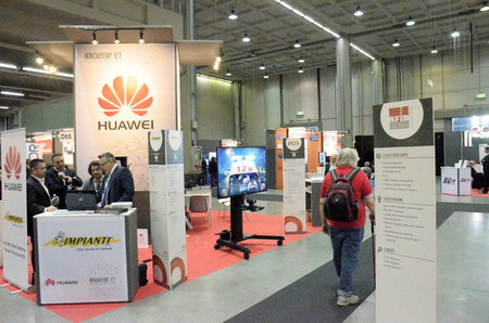 Milan Italy - 27 october 2014: With the inaugural conference Entitled EXPO 2015 and Italy innovation: companies at the center, the territories Protagonists kicks off the 51st edition of Smau: the center of the debate Editorial