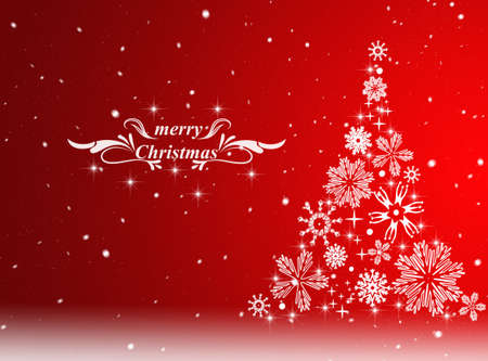card: Christmas background. Winter card. New Year card Stock Photo