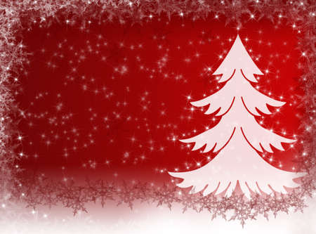 rime frost: Christmas background. Winter card. New Year card Stock Photo