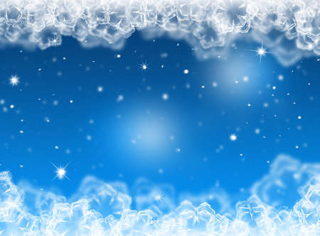 card: Snow winter background. Christmas card. Winter card