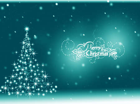 christmas winter: Winter Christmas background. Winter card Stock Photo