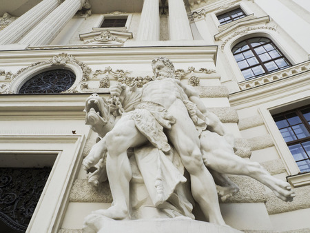 ancient philosophy: statues